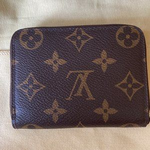 Brown Zippy Coin Purse Leather